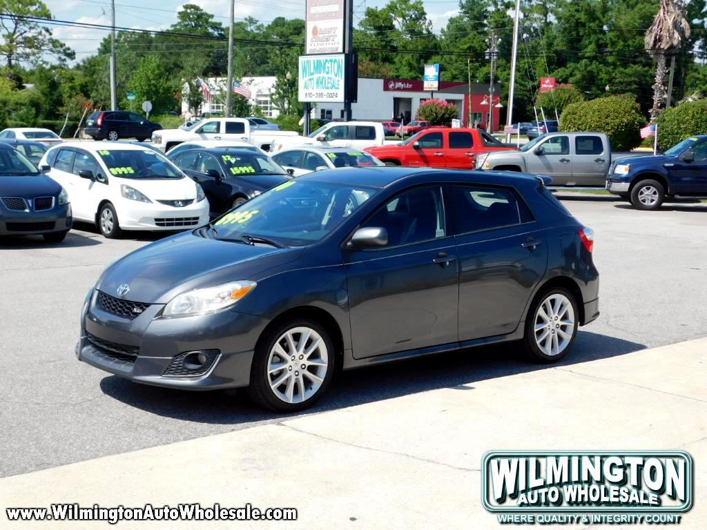 2010 Toyota Matrix XRS 4-Speed AT