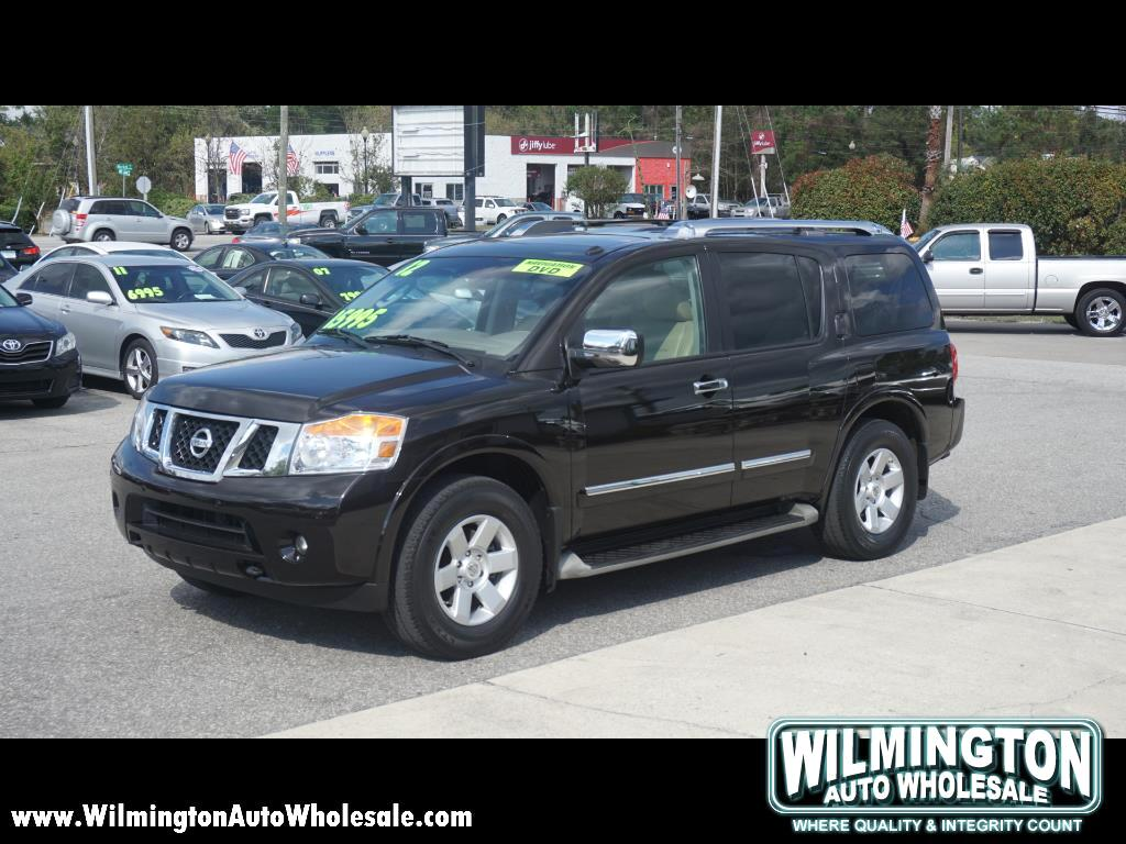Used 2012 Nissan Armada For Sale In Wilmington Nc 28405 Wilmington