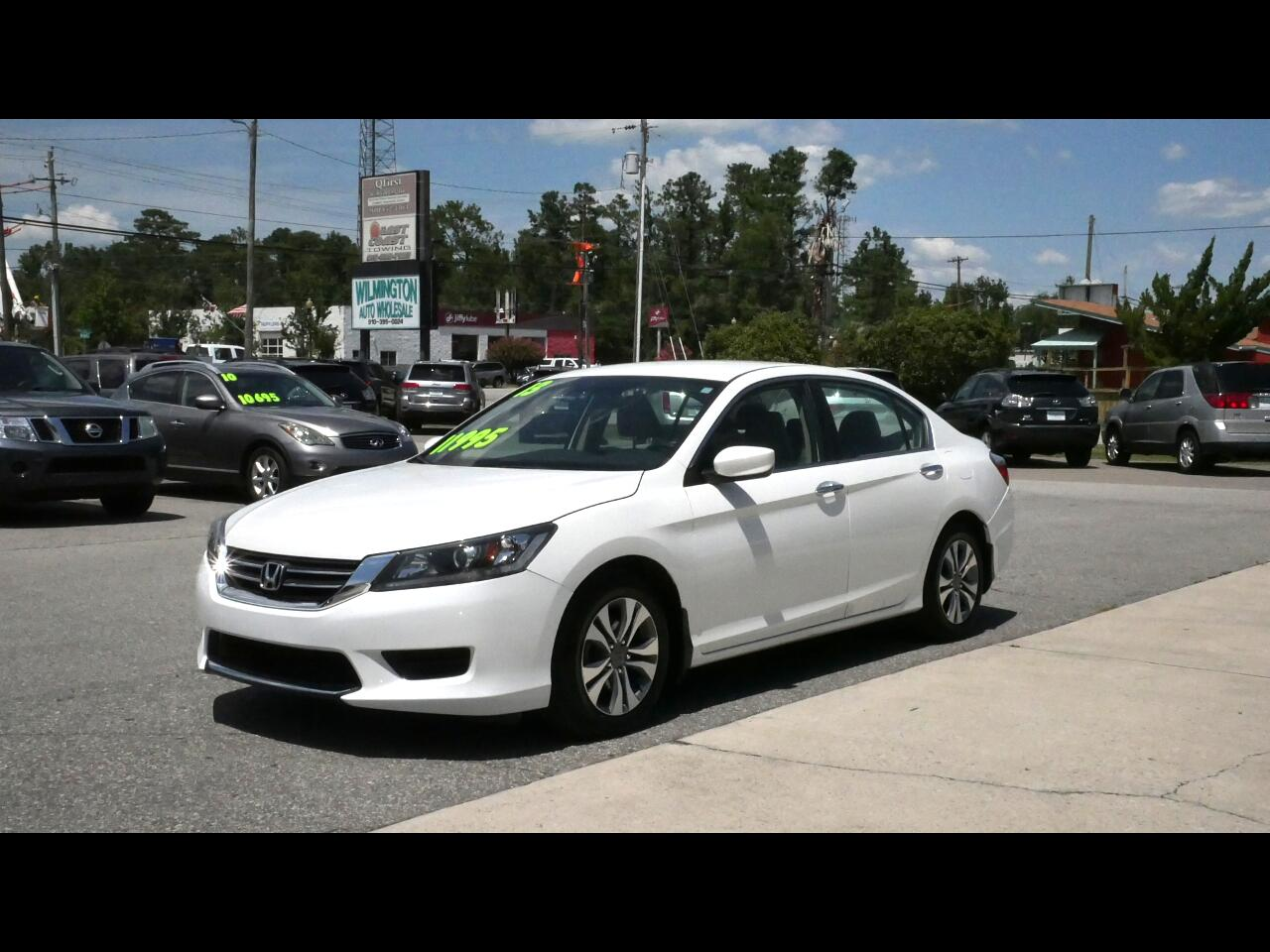 Honda Accord LX Sedan CVT 2013