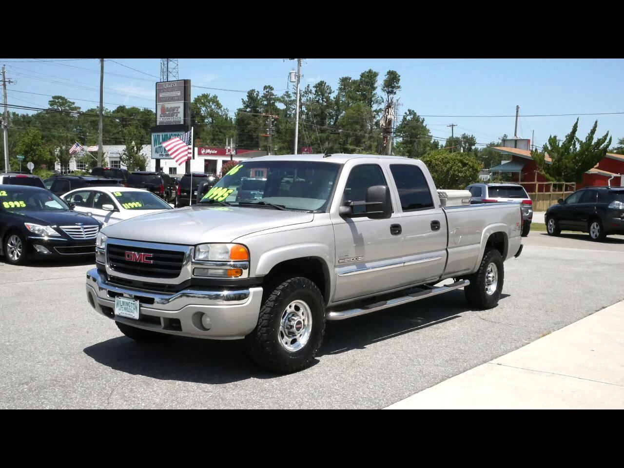 2006 GMC Sierra 2500HD Work Truck Crew Cab Long Bed 4WD