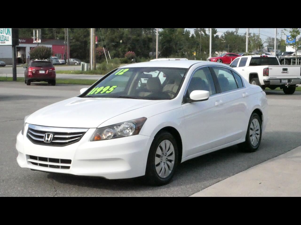 Honda Accord Sdn 4dr I4 Auto LX 2012