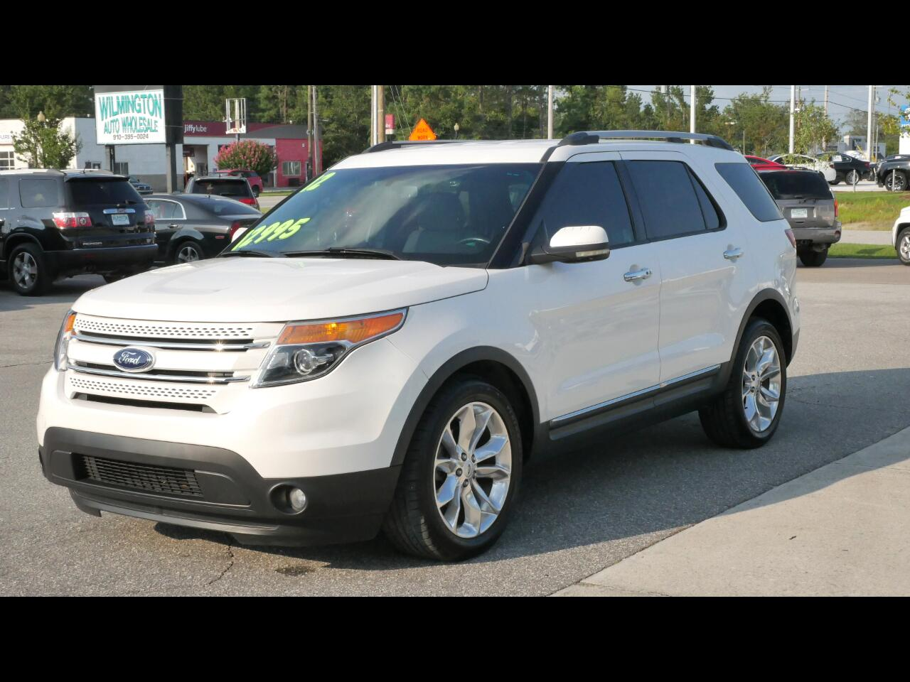Ford Explorer FWD 4dr Limited 2012
