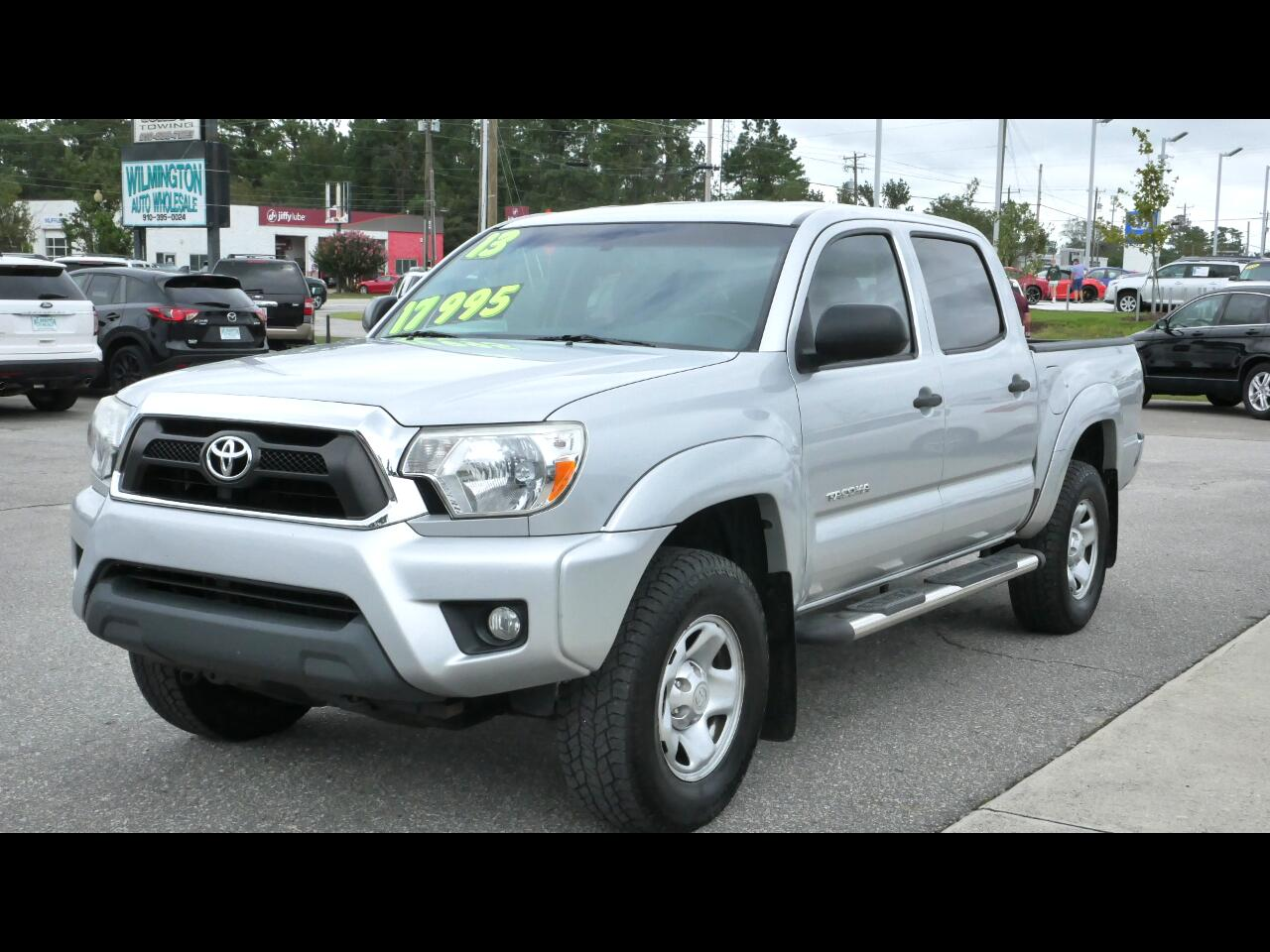 Toyota Tacoma 2WD Double Cab V6 AT PreRunner (Natl) 2013