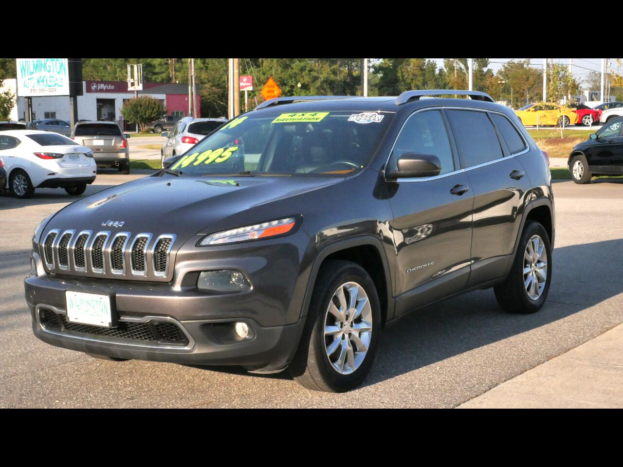 Jeep Cherokee 4WD 4dr Limited 2014