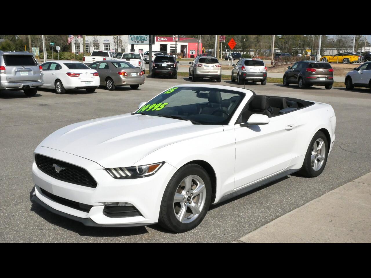 Ford Mustang 2dr Conv V6 2015
