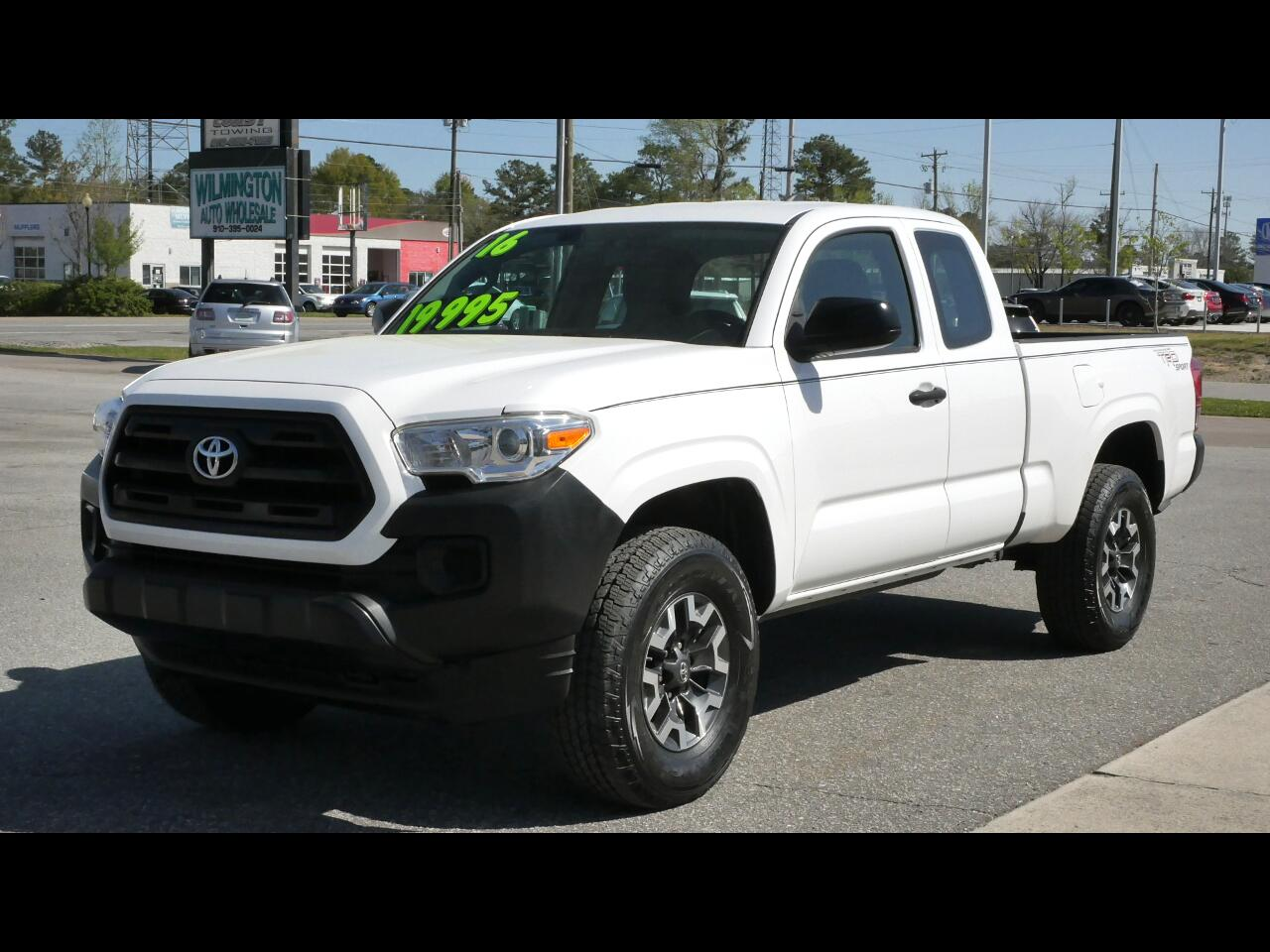 Toyota Tacoma 2WD Access Cab I4 AT SR5 (Natl) 2016