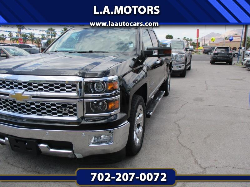 2015 Chevrolet Silverado 1500 LTZ Double Cab Short Box 2WD