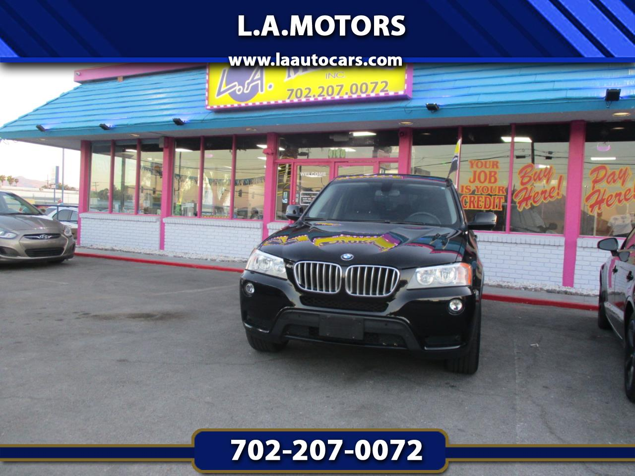 Used 2014 Bmw X3 Xdrive28i For Sale In Las Vegas Nv L A Auto Cars