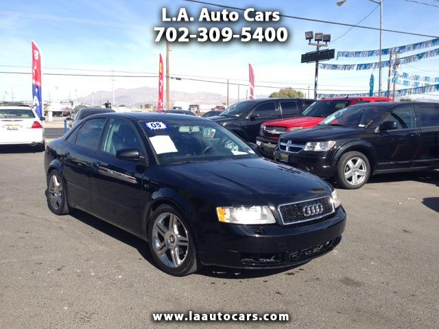 2005 Audi A4 1.8T with Multitronic