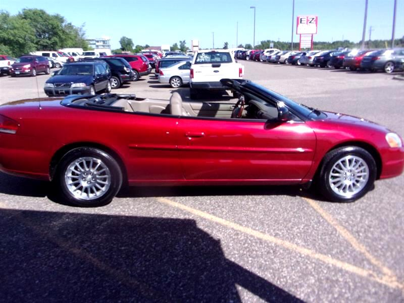 2004 Chrysler Sebring Touring Platinum Convertible