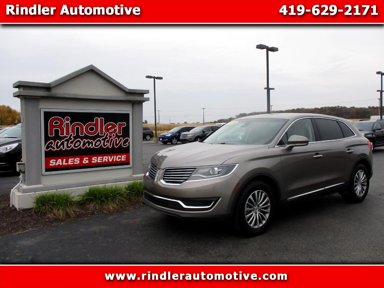 Lincoln MKX FWD 4dr Select 2016