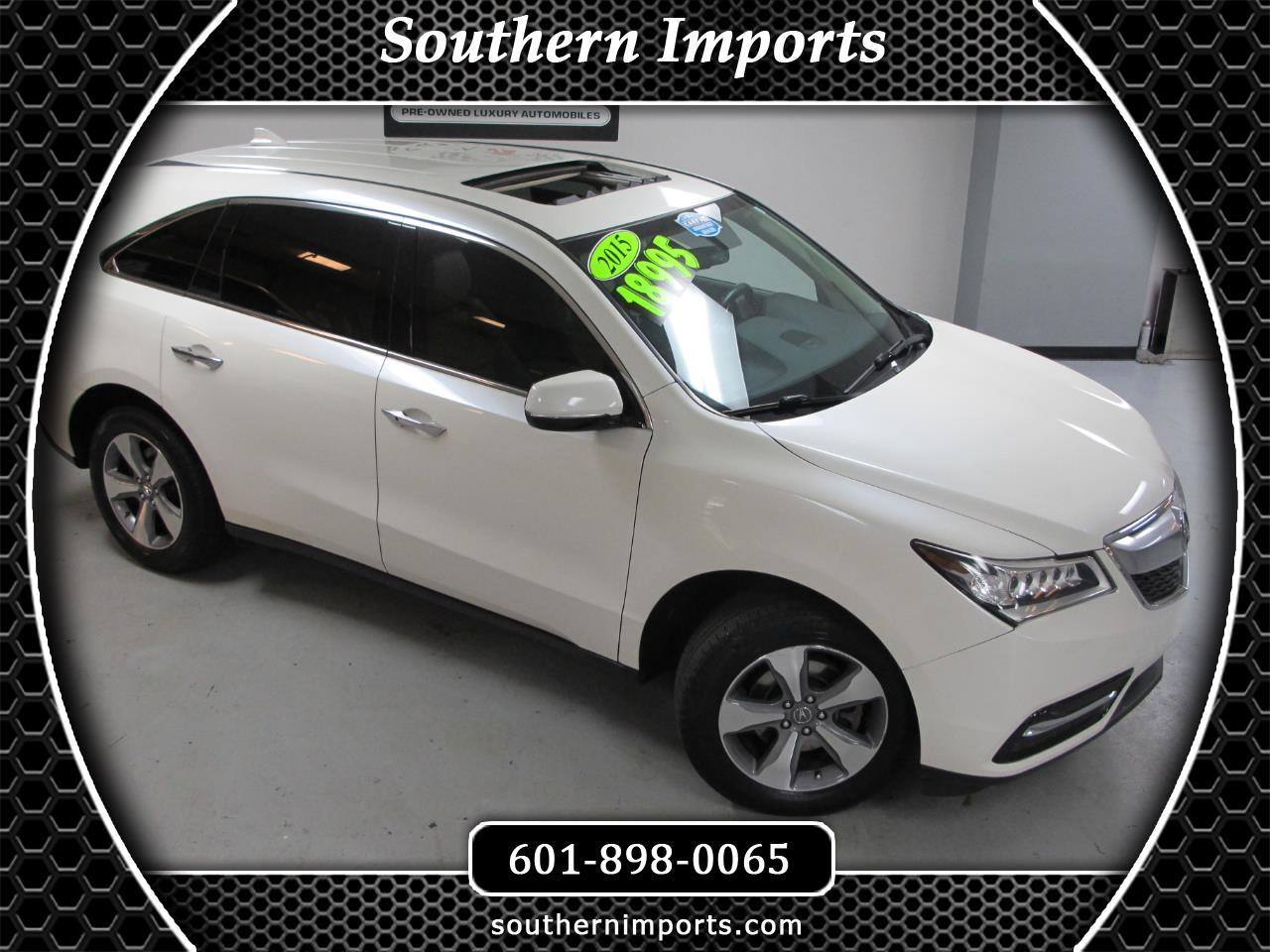 2015 Acura MDX FWD 4dr