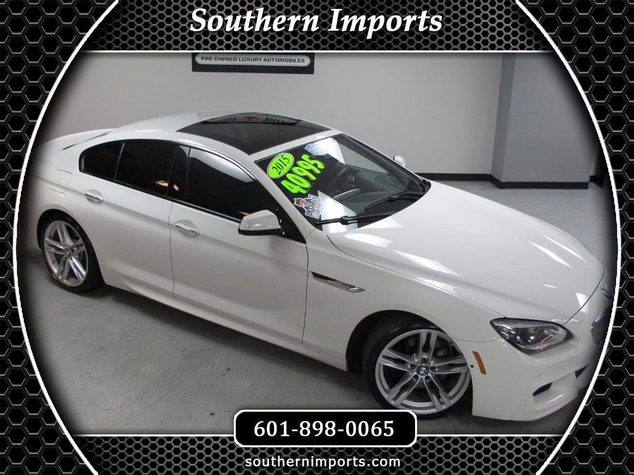 2015 BMW 6 Series 4dr Sdn 650i RWD Gran Coupe