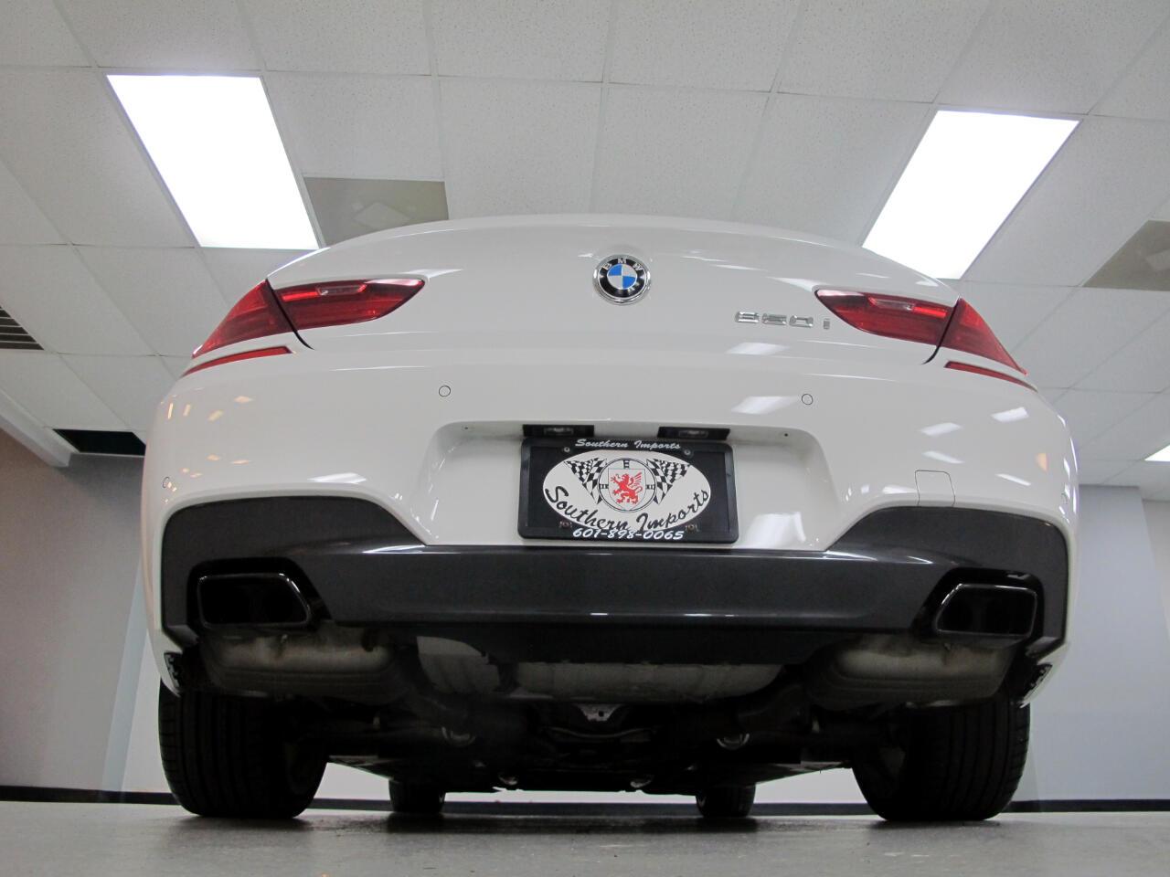 2015 BMW 6 Series 4dr Sdn 650i RWD Gran Coupe