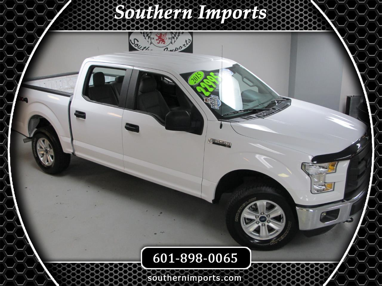 "2015 Ford F-150 4WD SuperCrew 145"" XL"