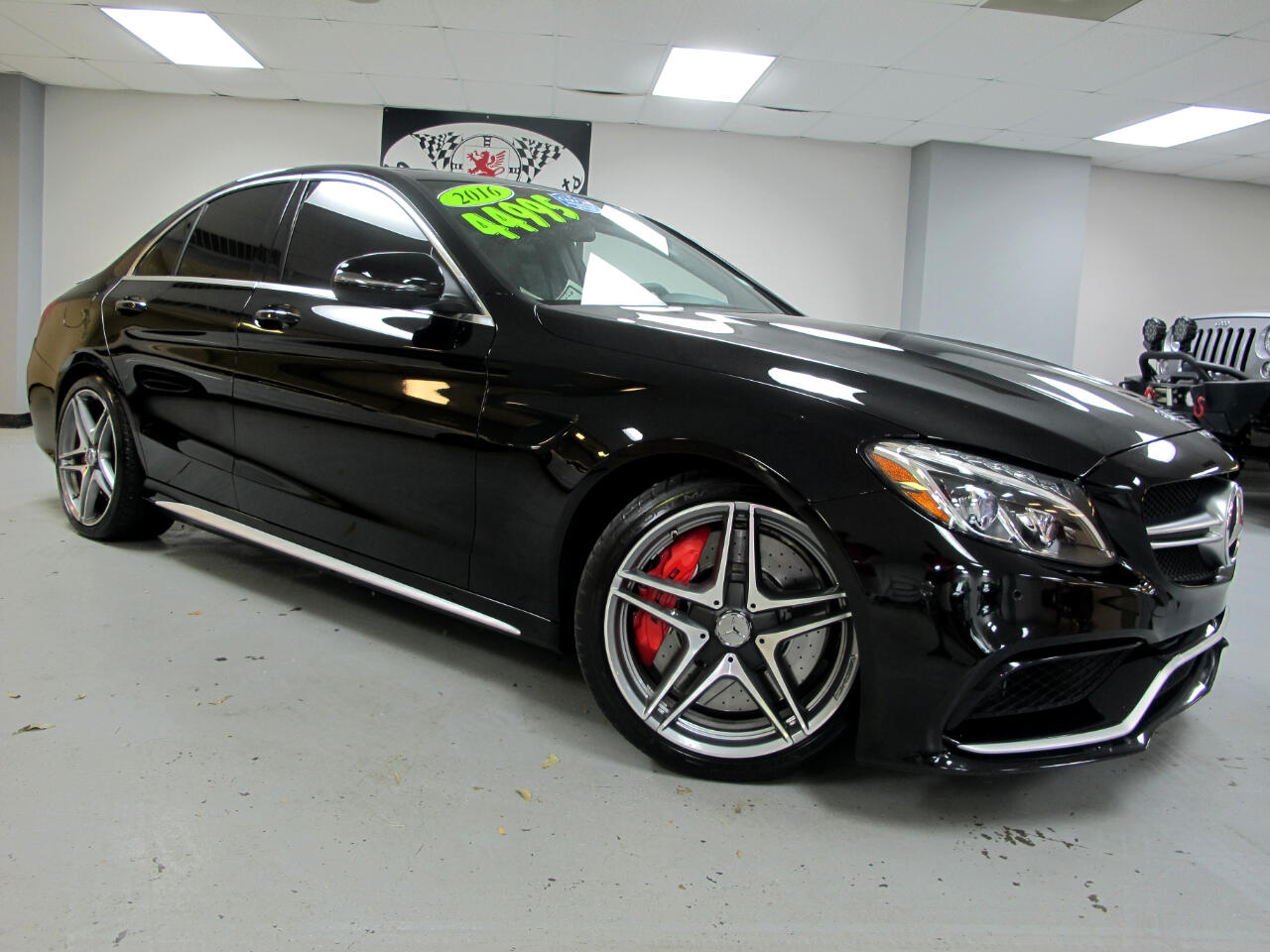 2016 Mercedes-Benz C-Class 4dr Sdn AMG C 63 S RWD