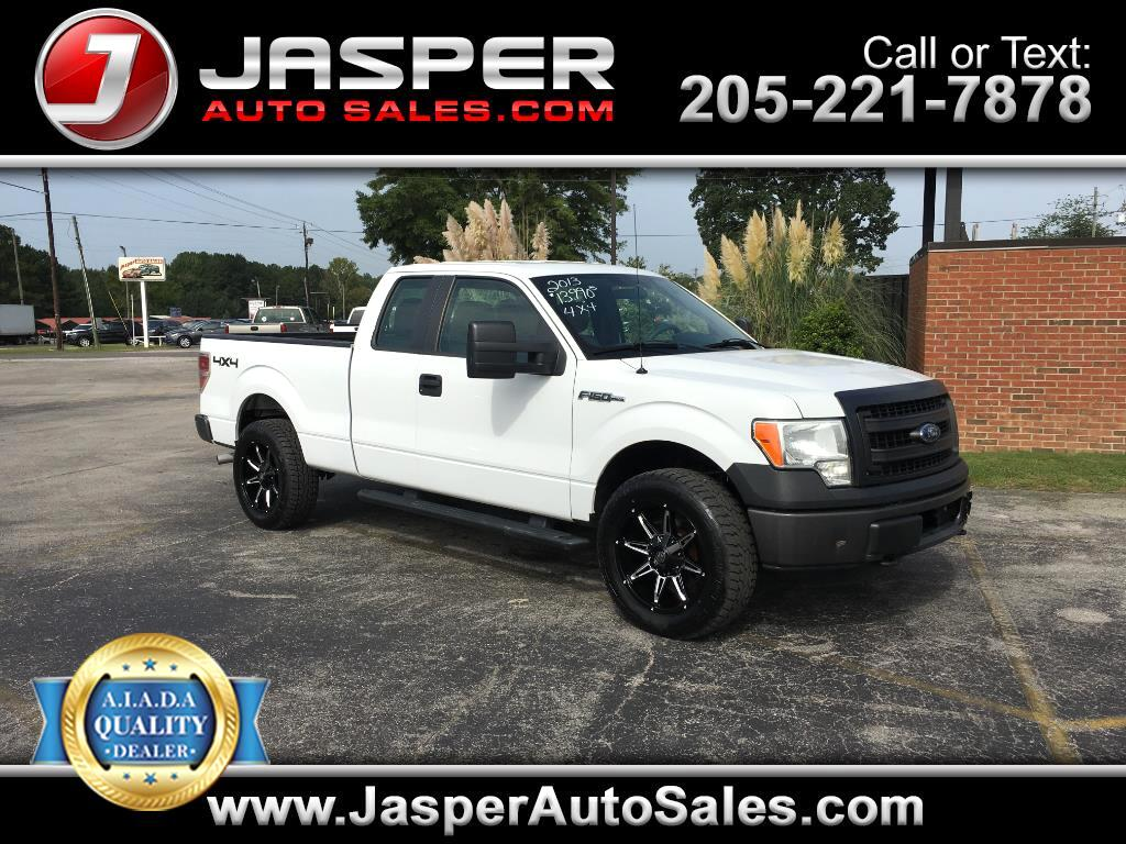 2013 Ford F-150 4WD SuperCab 145