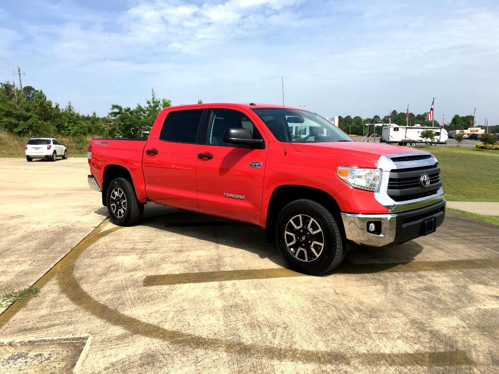2014 Toyota Tundra 4WD Truck CrewMax 5.7L FFV V8 6-Spd AT SR5 (Natl)