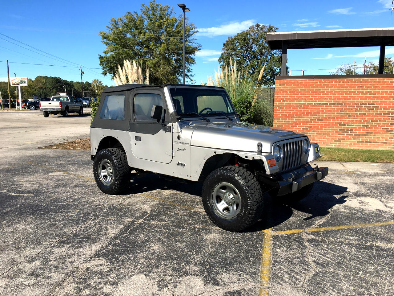 used 2002 jeep wrangler 2dr sport for sale in jasper al 35501 jasper auto sales select. Black Bedroom Furniture Sets. Home Design Ideas