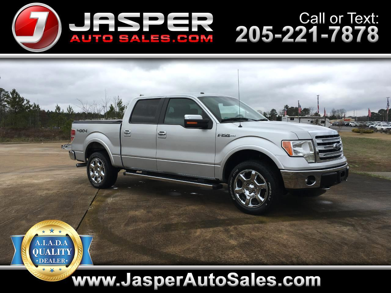 2014 Ford F-150 Lariat 4WD SuperCrew 6.5' Box