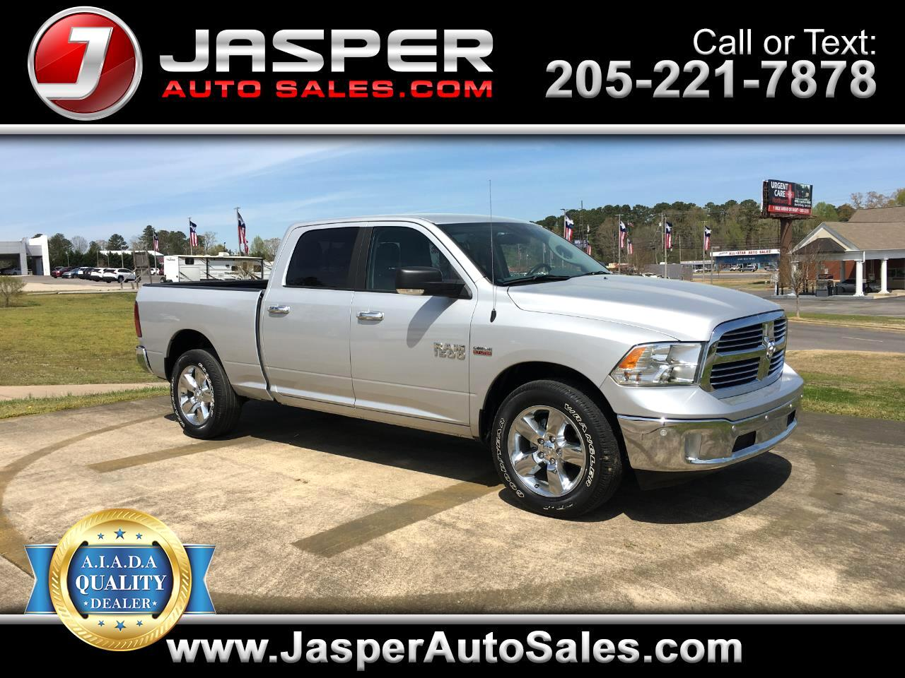 "2018 RAM 1500 Big Horn 4x4 Crew Cab 6'4"" Box"