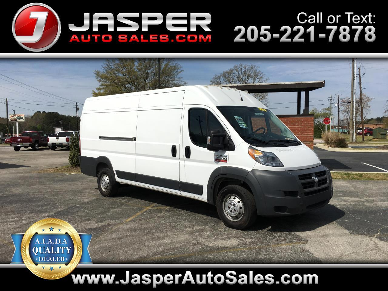 "2015 RAM ProMaster Cargo Van 3500 Extended High Roof 159"" WB"