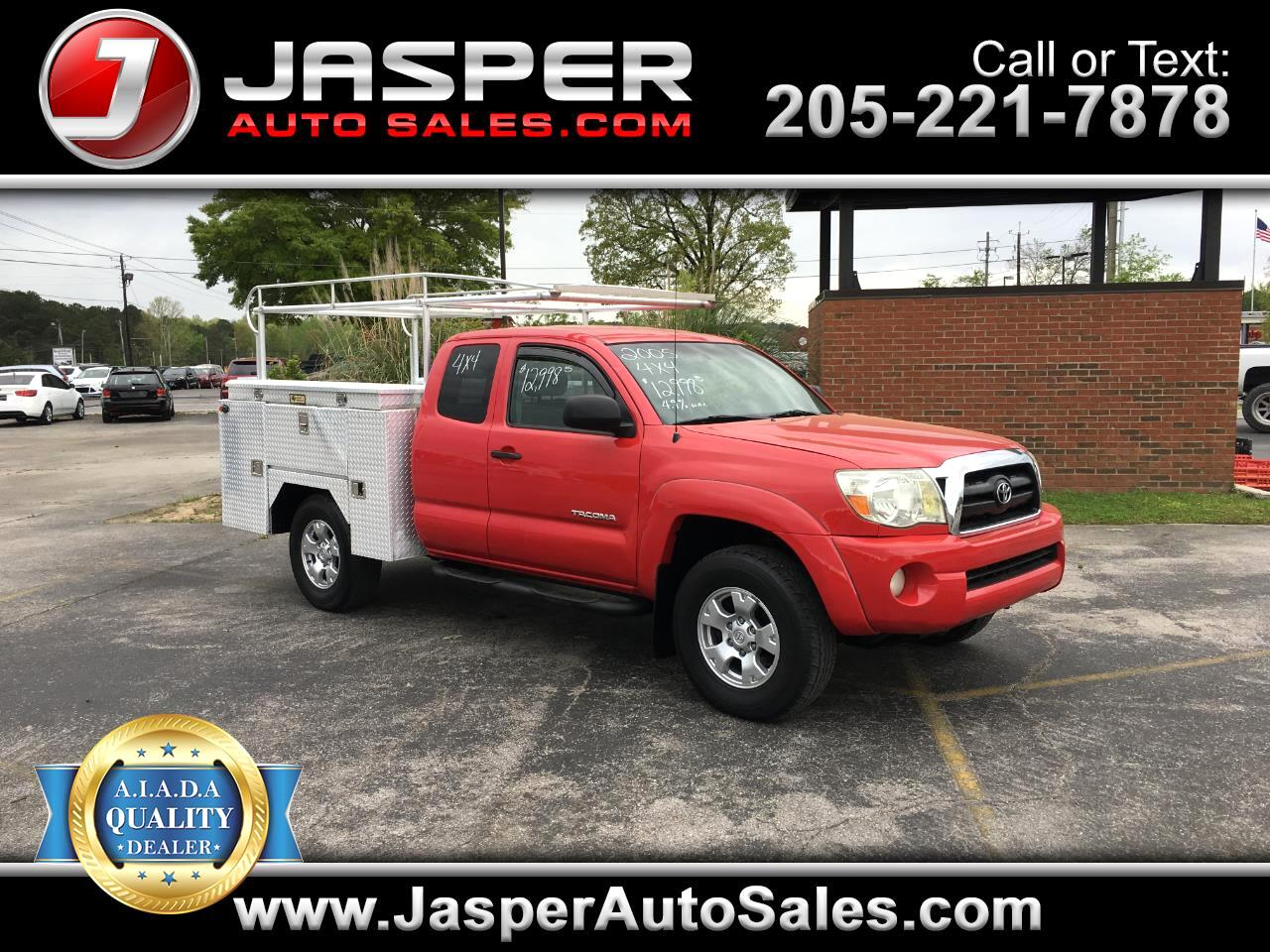2005 Toyota Tacoma 4WD Access Cab V6 AT (Natl)