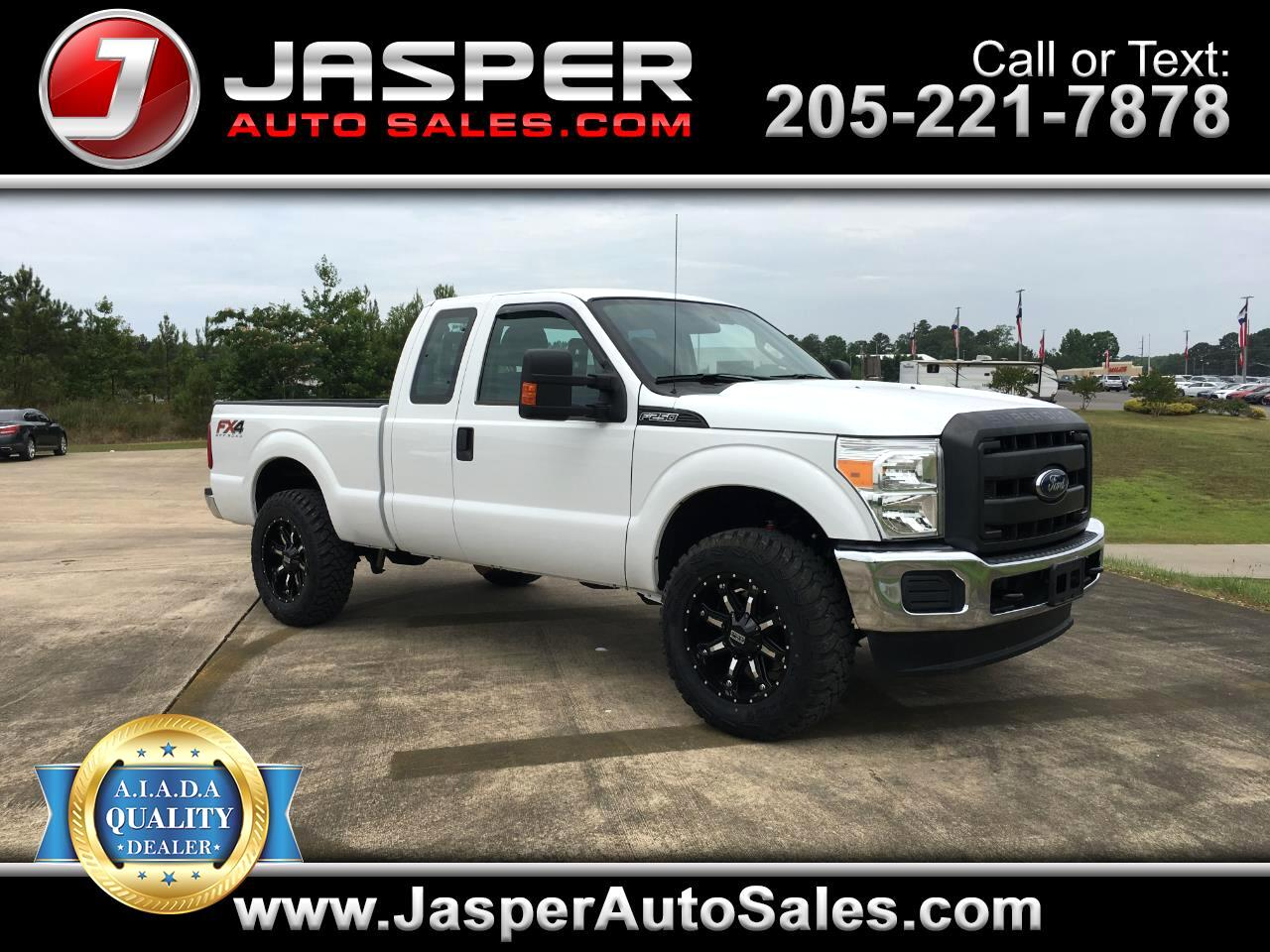 "2015 Ford Super Duty F-250 SRW 4WD SuperCab 158"" XLT"