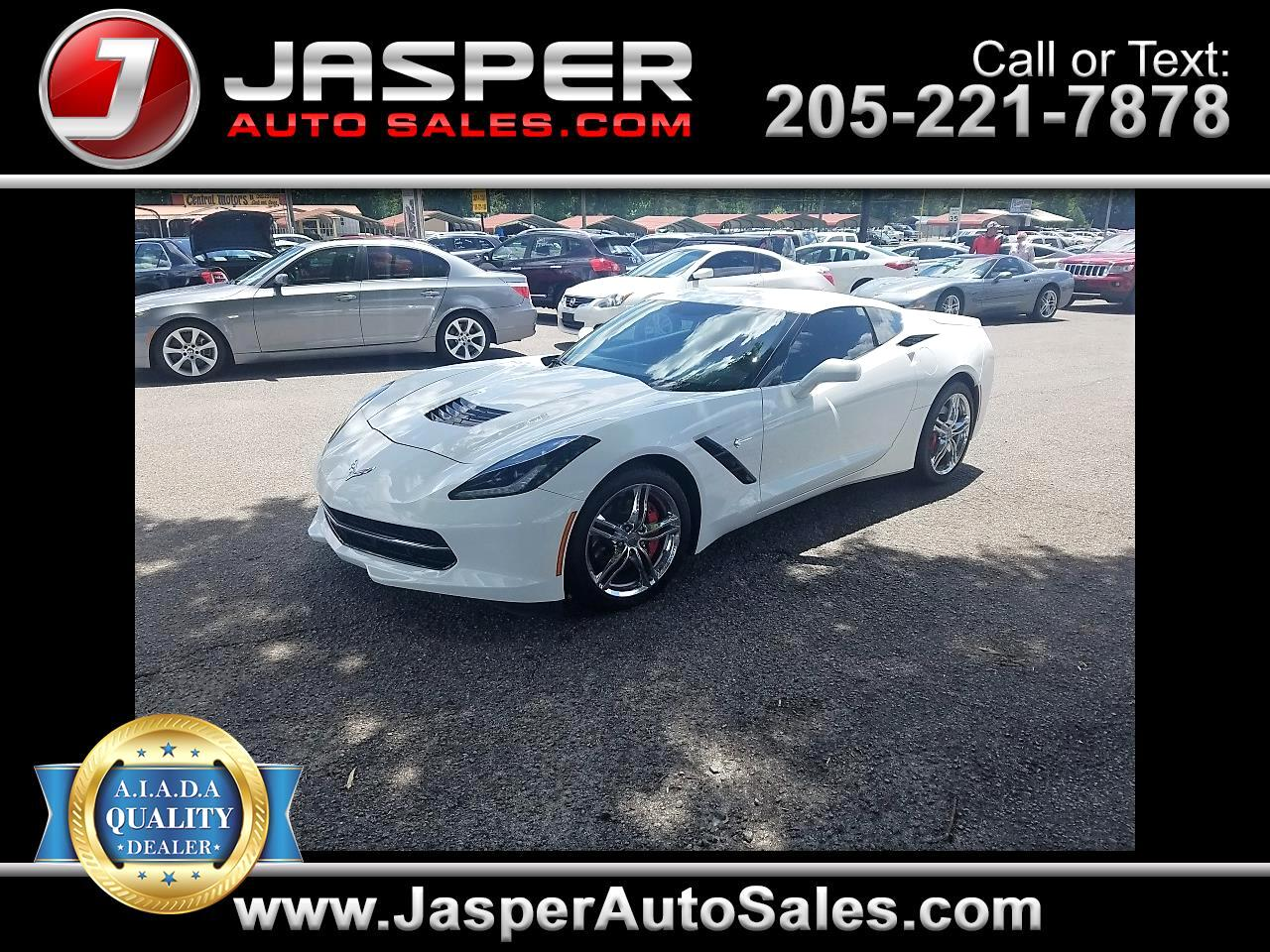 2017 Chevrolet Corvette 2dr Stingray Cpe w/1LT