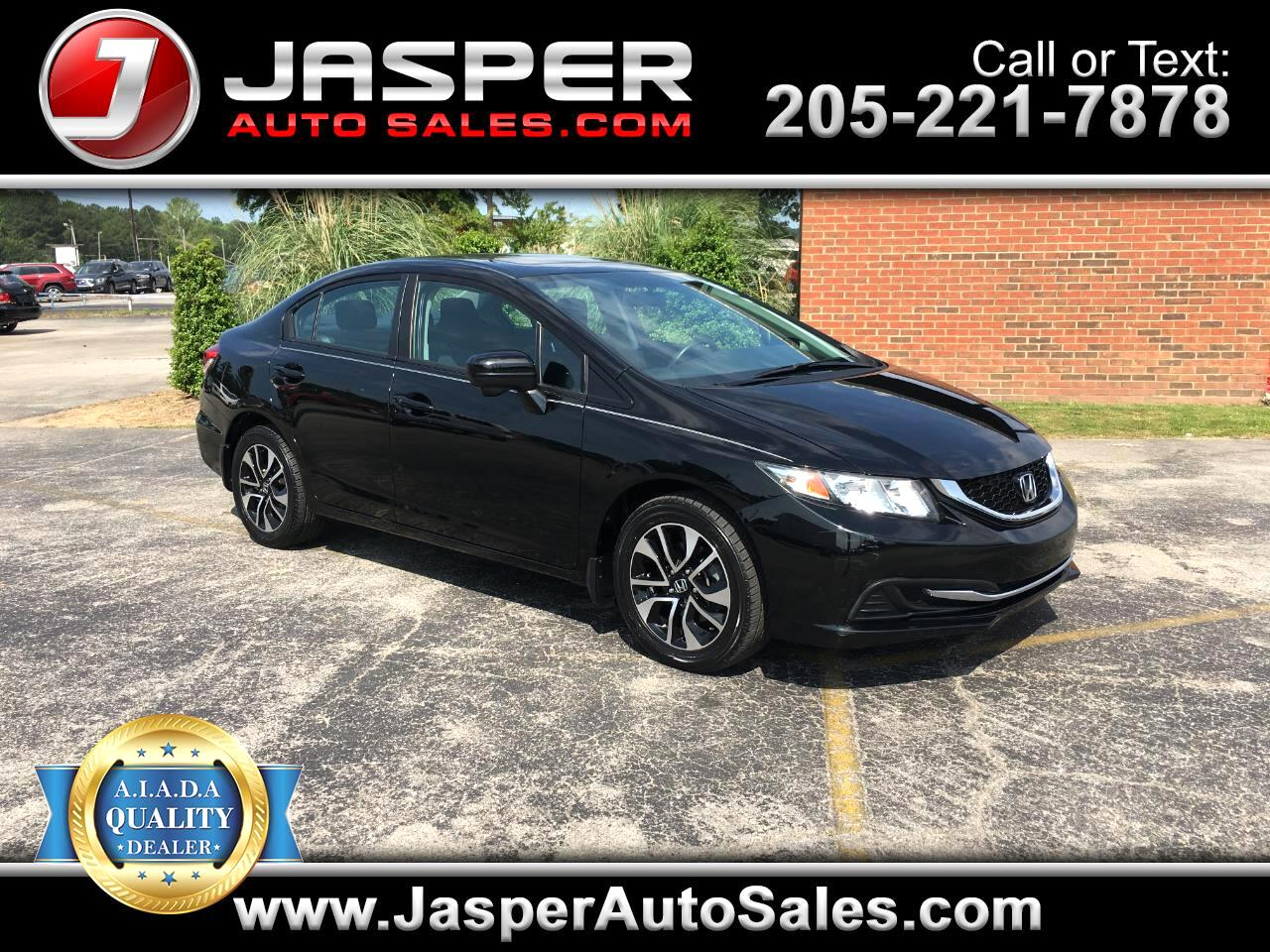 2014 Honda Civic Sedan 4dr CVT EX