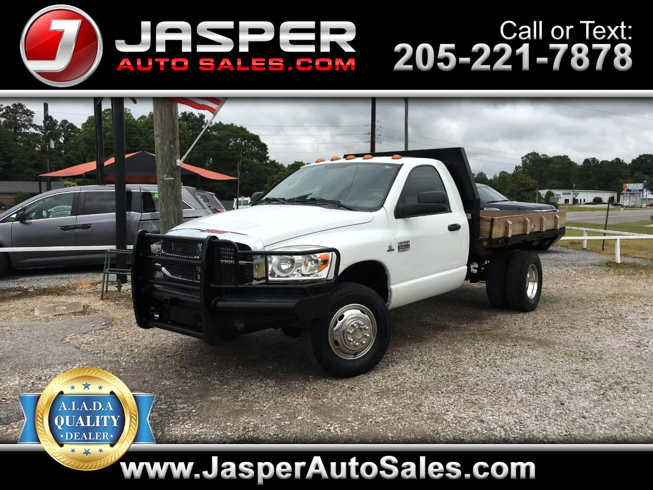 2007 Dodge Ram 3500 4X4 DIESEL DUALLY:  MANUAL TRANS