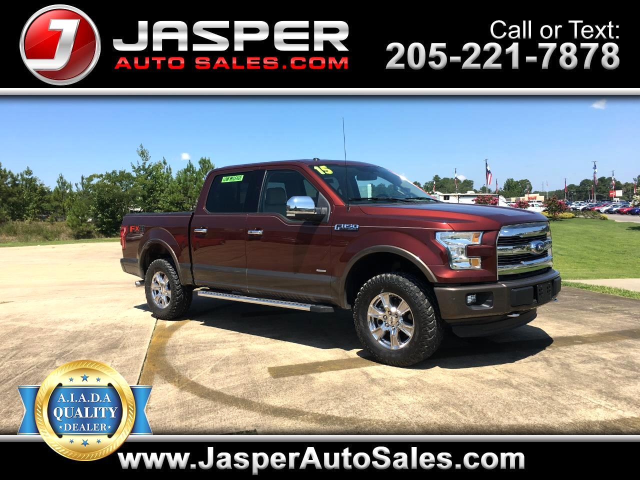 2015 Ford F-150 4X4 SUPERCREW LARIAT/FX4