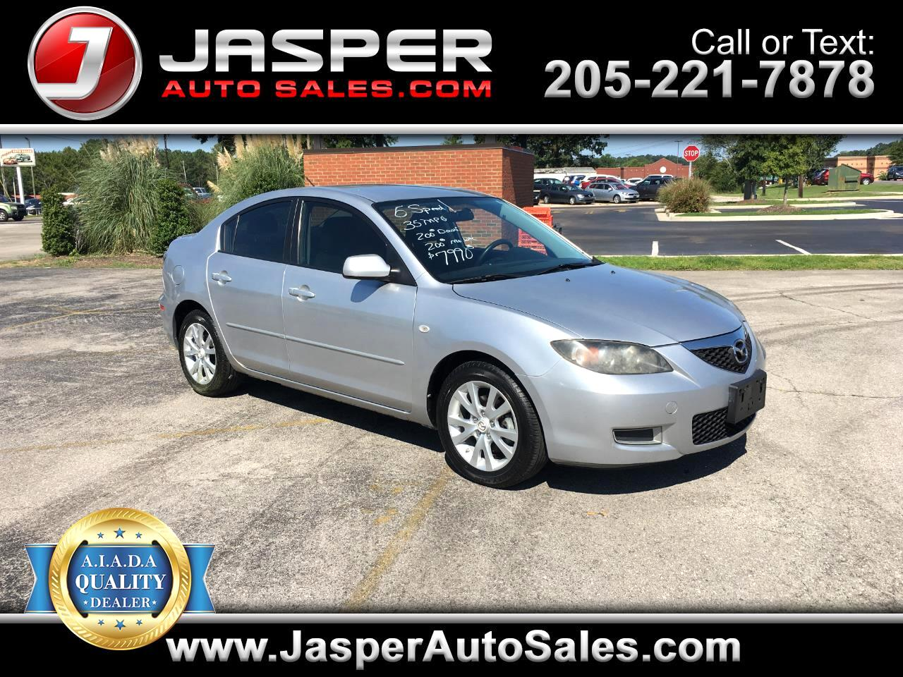 2007 Mazda MAZDA3 4dr Sdn Manual i Touring