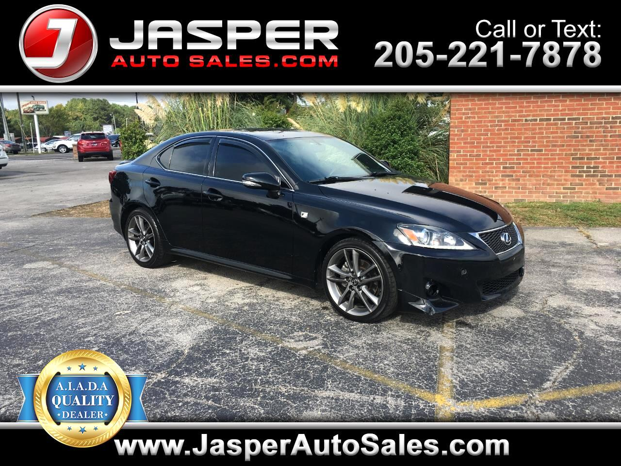 2011 Lexus IS 250 4dr Sport Sdn Auto RWD