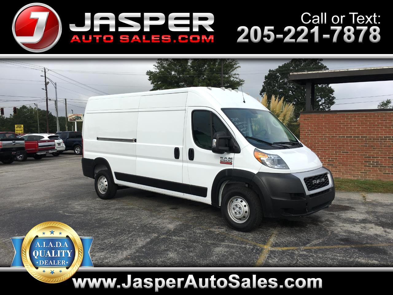 2019 RAM ProMaster Cargo Van 2500 High Roof 159