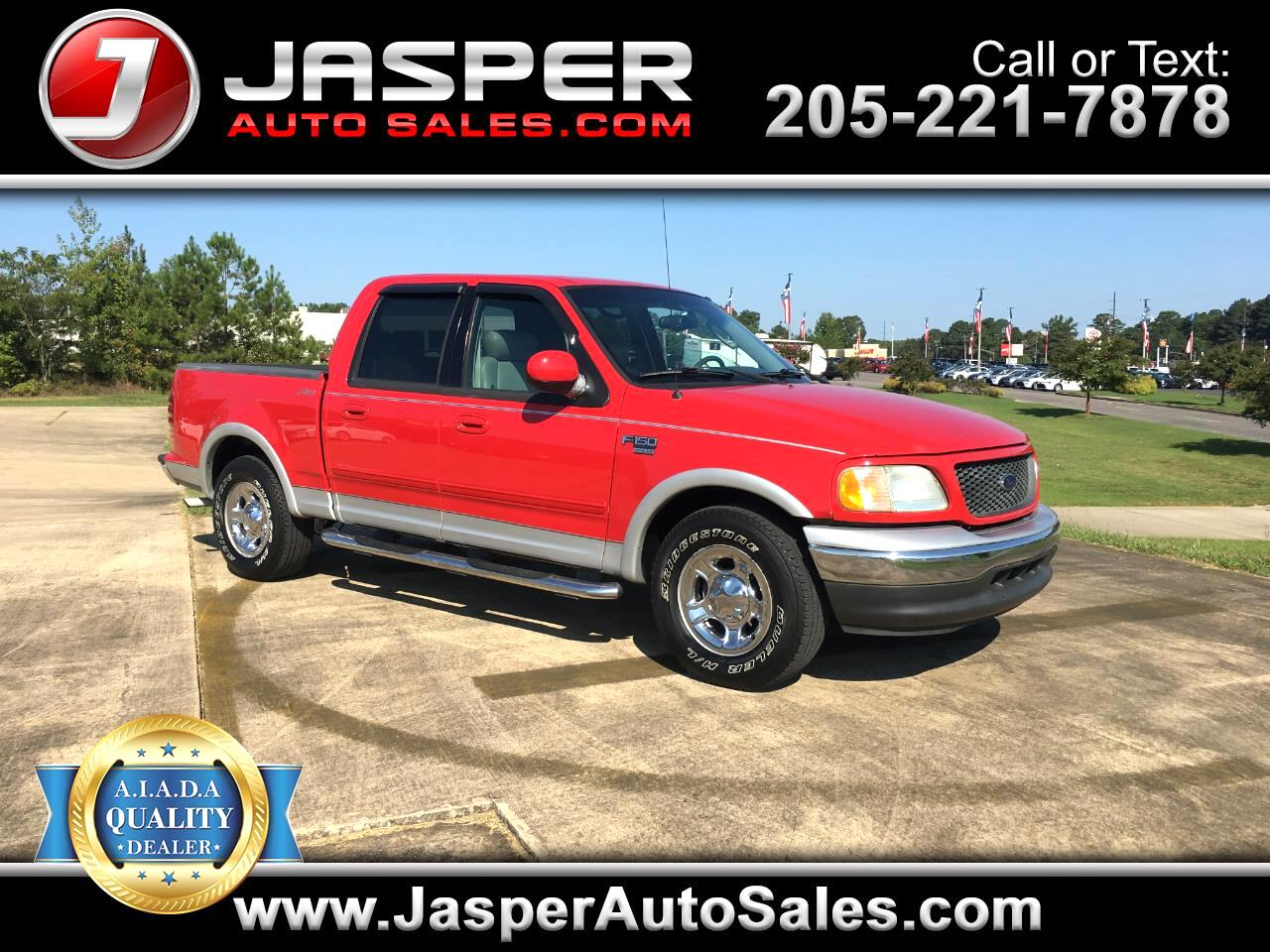 "Ford F-150 2WD SuperCrew 139"" Lariat 2003"