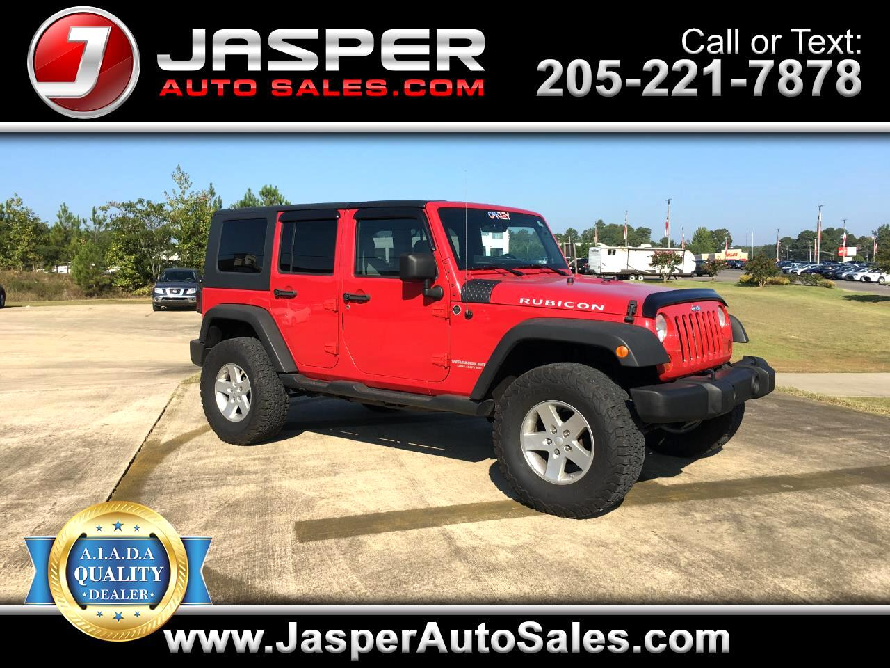 2008 Jeep Wrangler Unlimited 4WD 4dr Rubicon