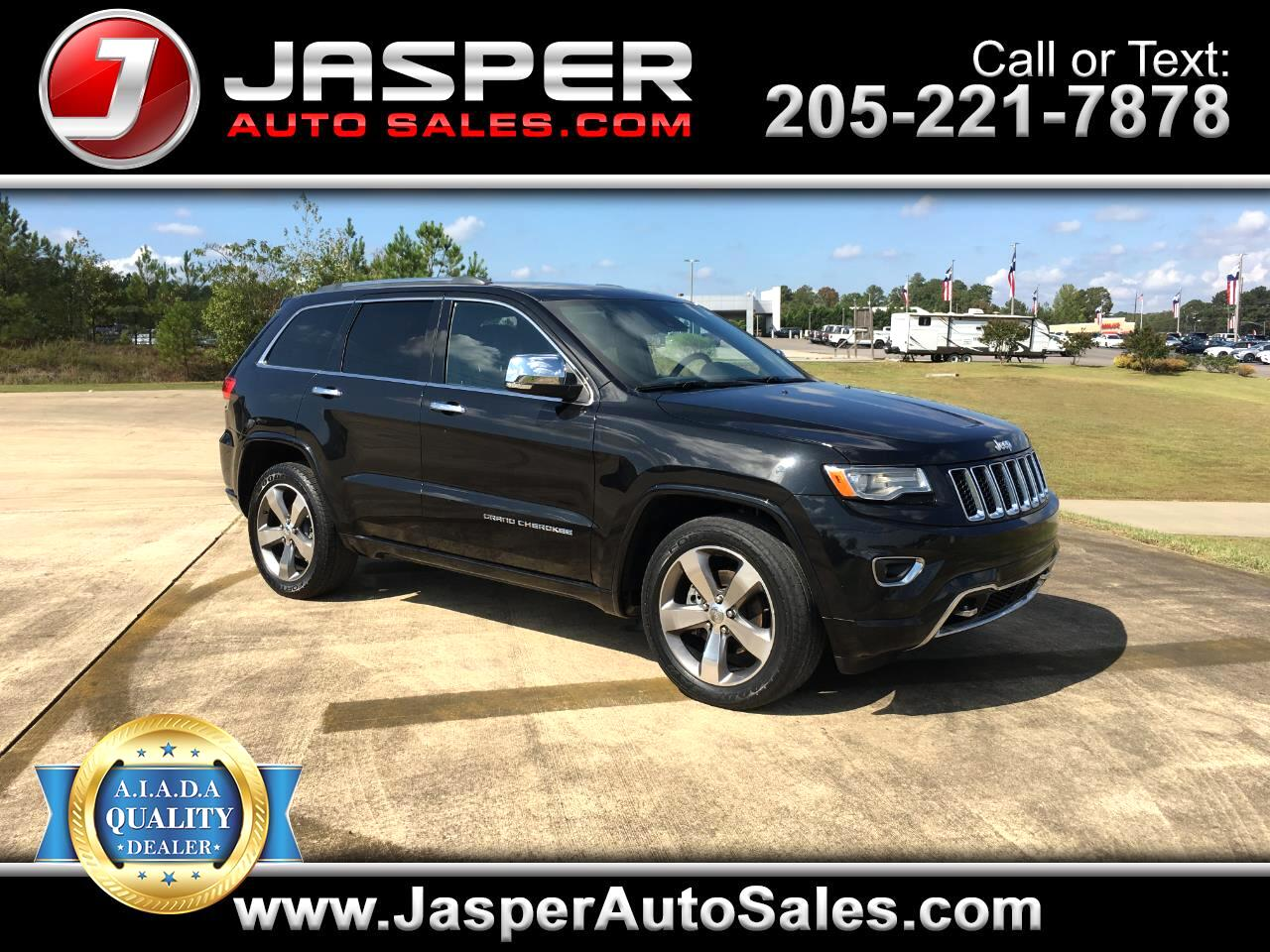 Jeep Grand Cherokee RWD 4dr Overland 2015