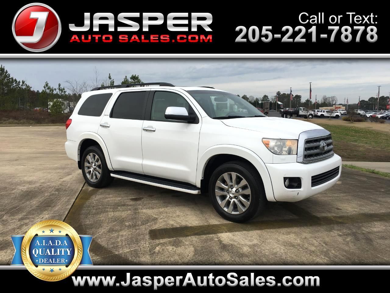 Toyota Sequoia RWD LV8 6-Spd AT Ltd (Natl) 2010