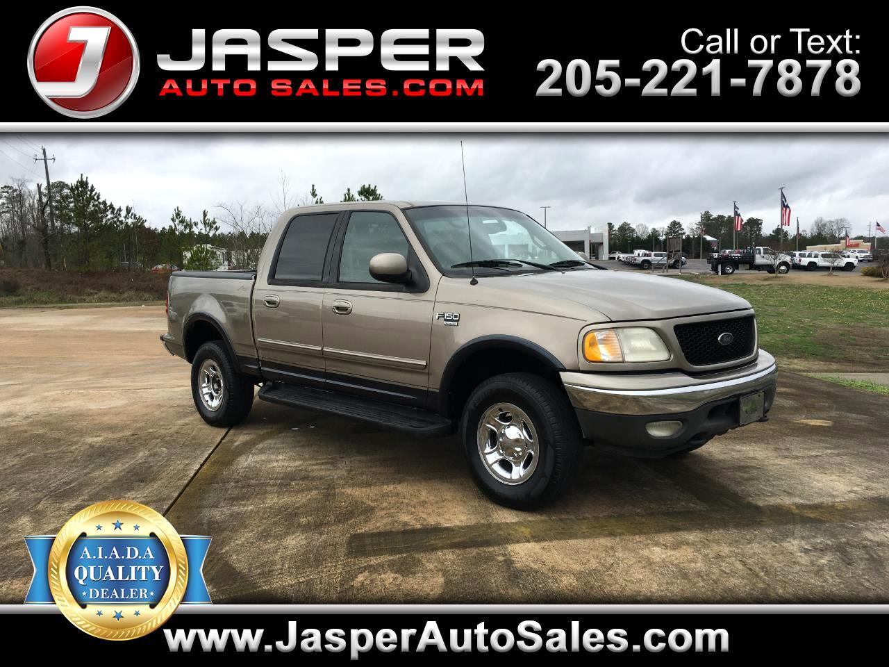 "Ford F-150 SuperCrew Crew Cab 139"" Lariat 4WD 2001"