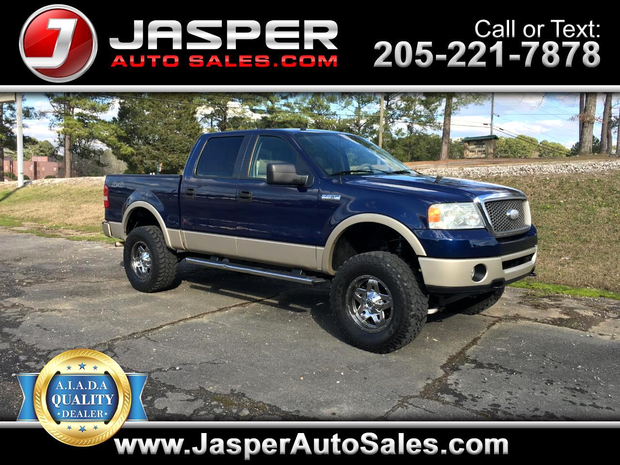 "Ford F-150 4WD SuperCrew 139"" Lariat 2008"