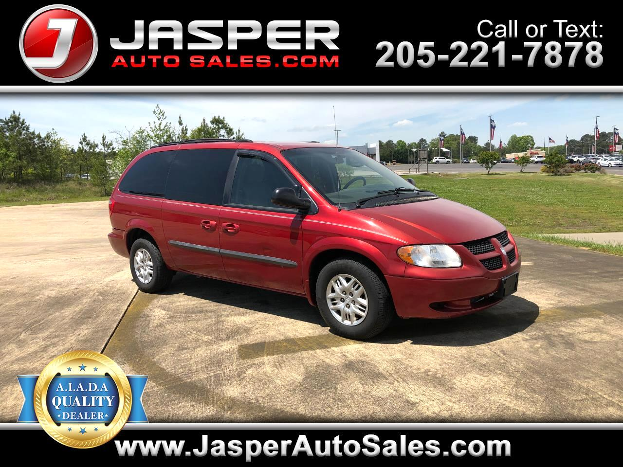 "Dodge Caravan 4dr Grand Sport 119"" WB 2003"