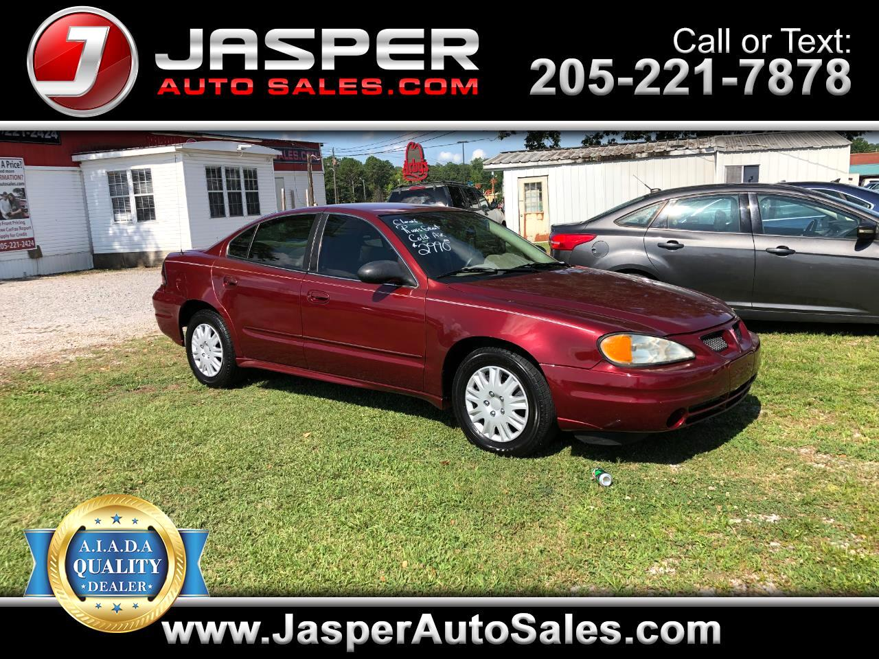 Pontiac Grand Am 4dr Sdn SE 2003