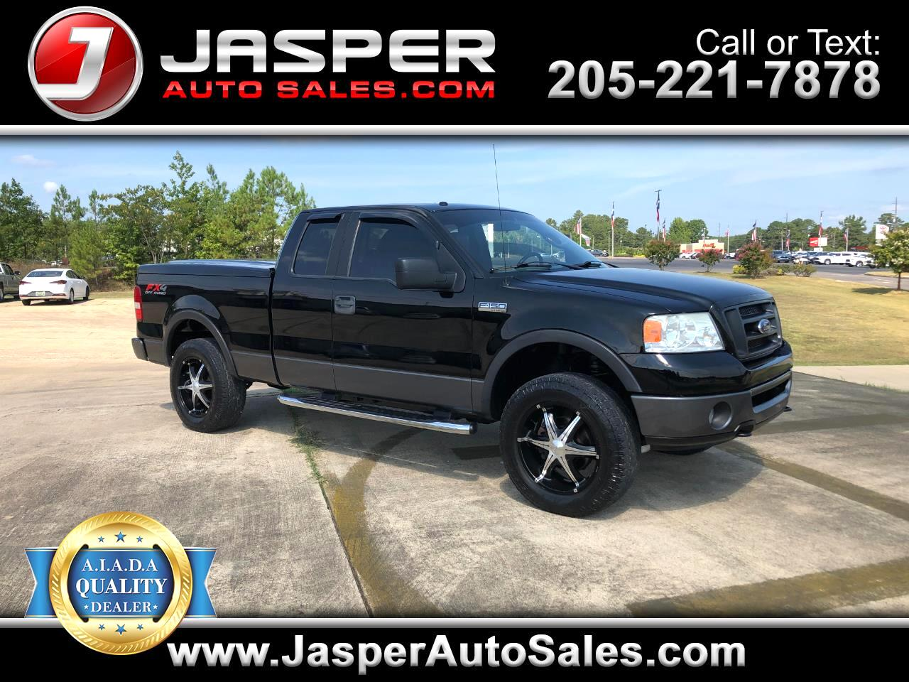 "Ford F-150 4WD SuperCab 133"" FX4 2007"