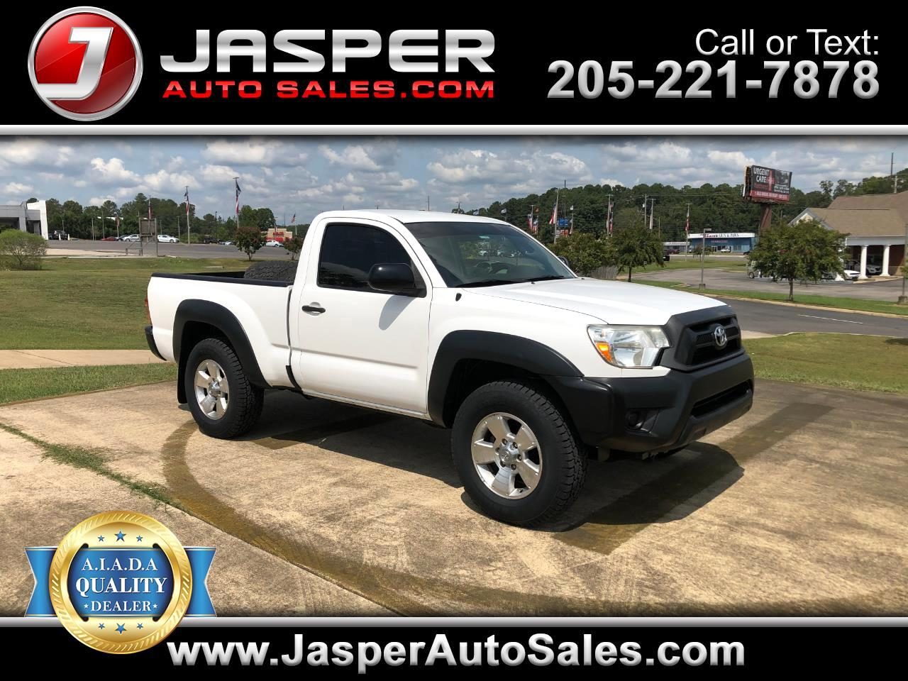 Toyota Tacoma 4WD Reg Cab I4 AT (Natl) 2012