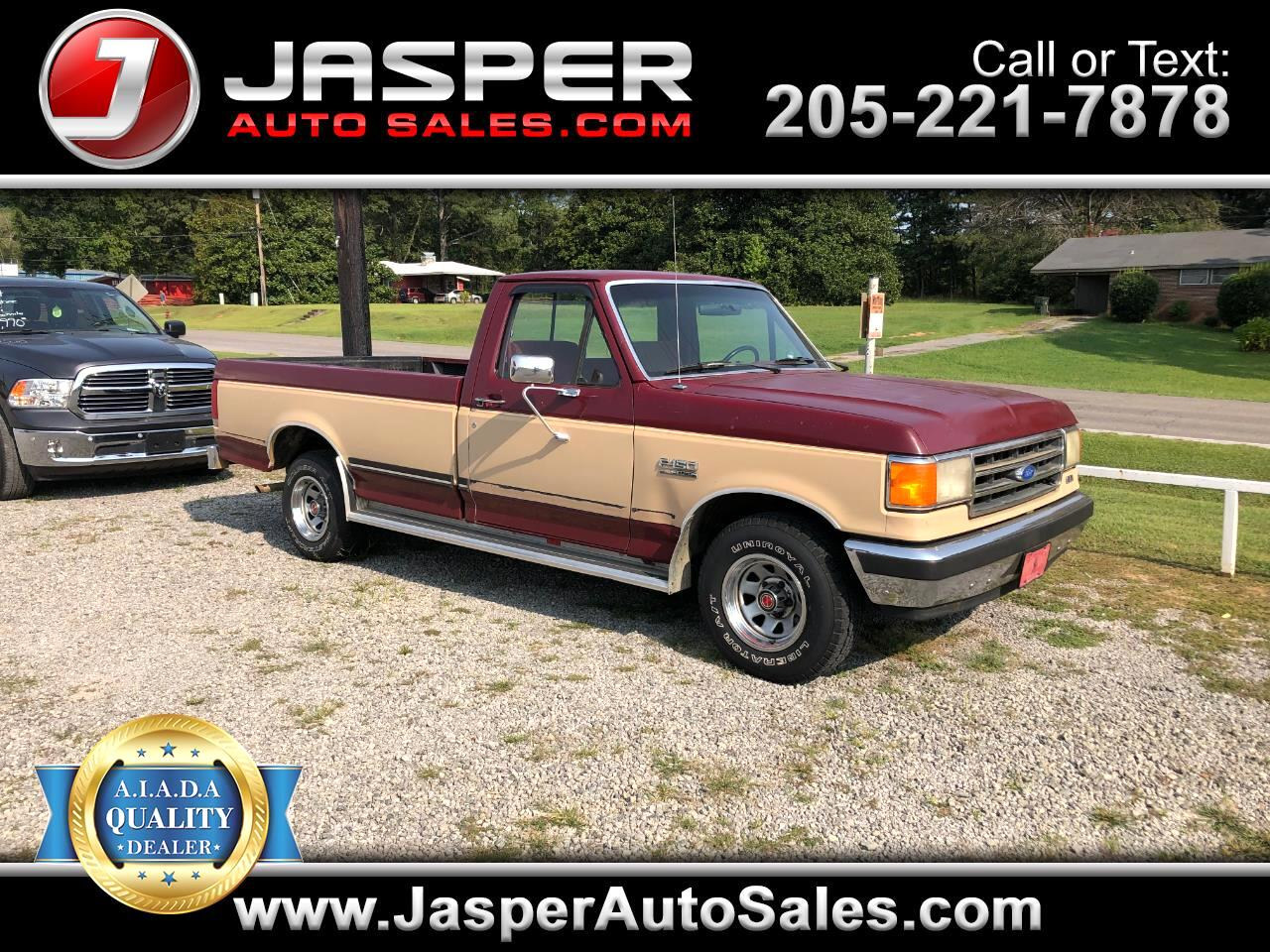 "Ford 1/2 Ton Trucks Styleside ""S"" 117"" WB 1989"