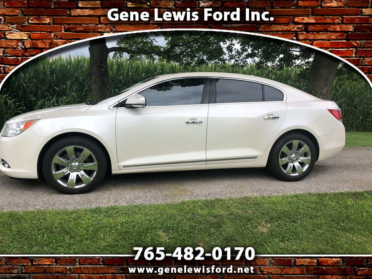 Buick LaCrosse Premium Package 3, w/Leather 2012