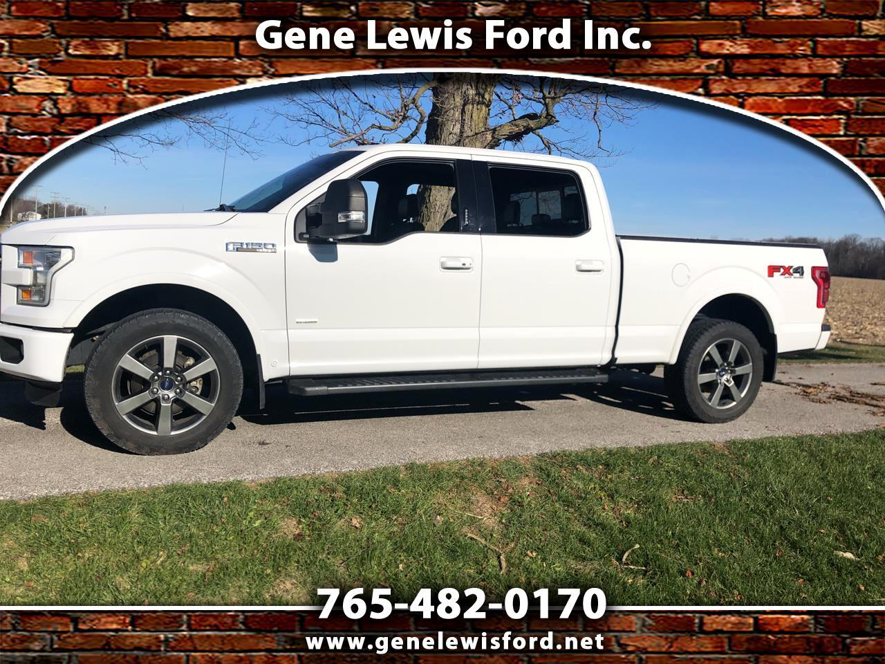Ford F-150 Lariat SuperCrew Short Bed 4WD 2016