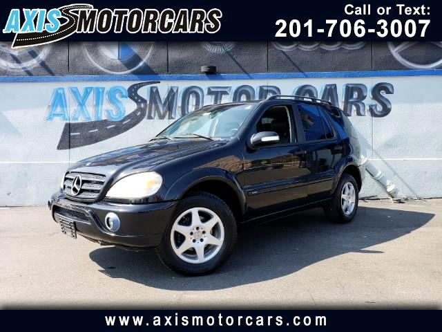 Used 2003 Mercedes Benz M Class Ml 320 4matic For Sale Cargurus
