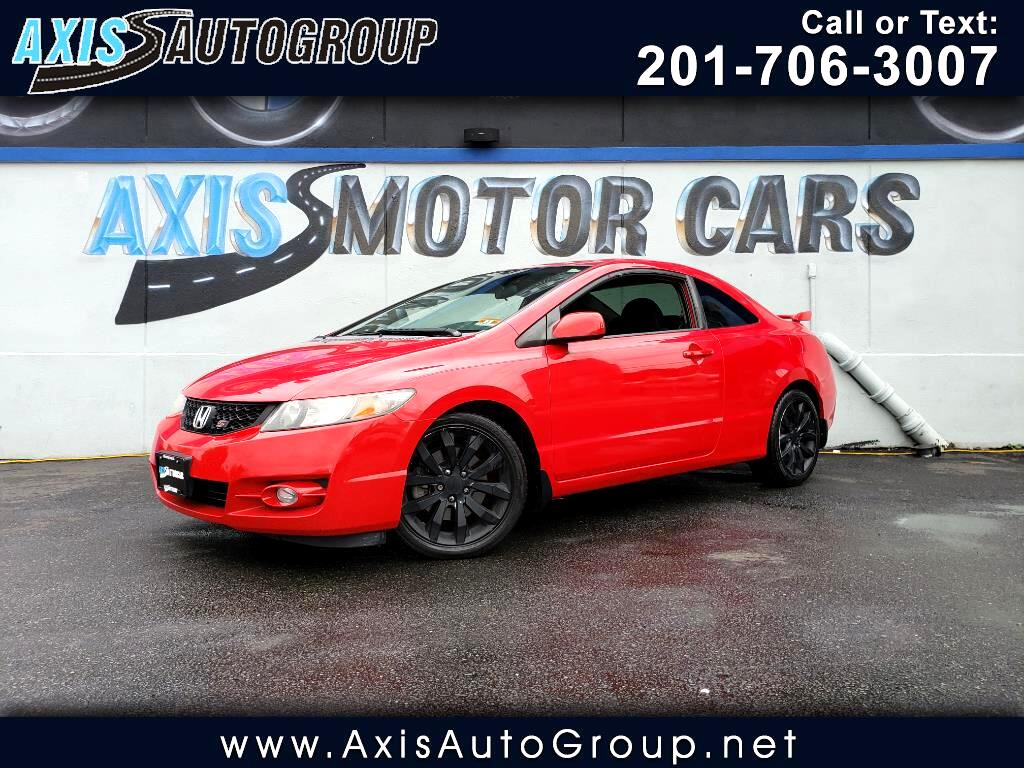 2009 Honda Civic Cpe Si Manual Transmission W/sun roof  clean carfax
